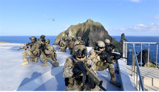 East Sea Territory Protection Exercise
