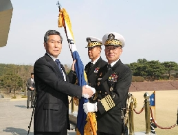 Navy Chief of Staff Boo Suk-jong, 'Make a navy that is trusted .... 대표 이미지